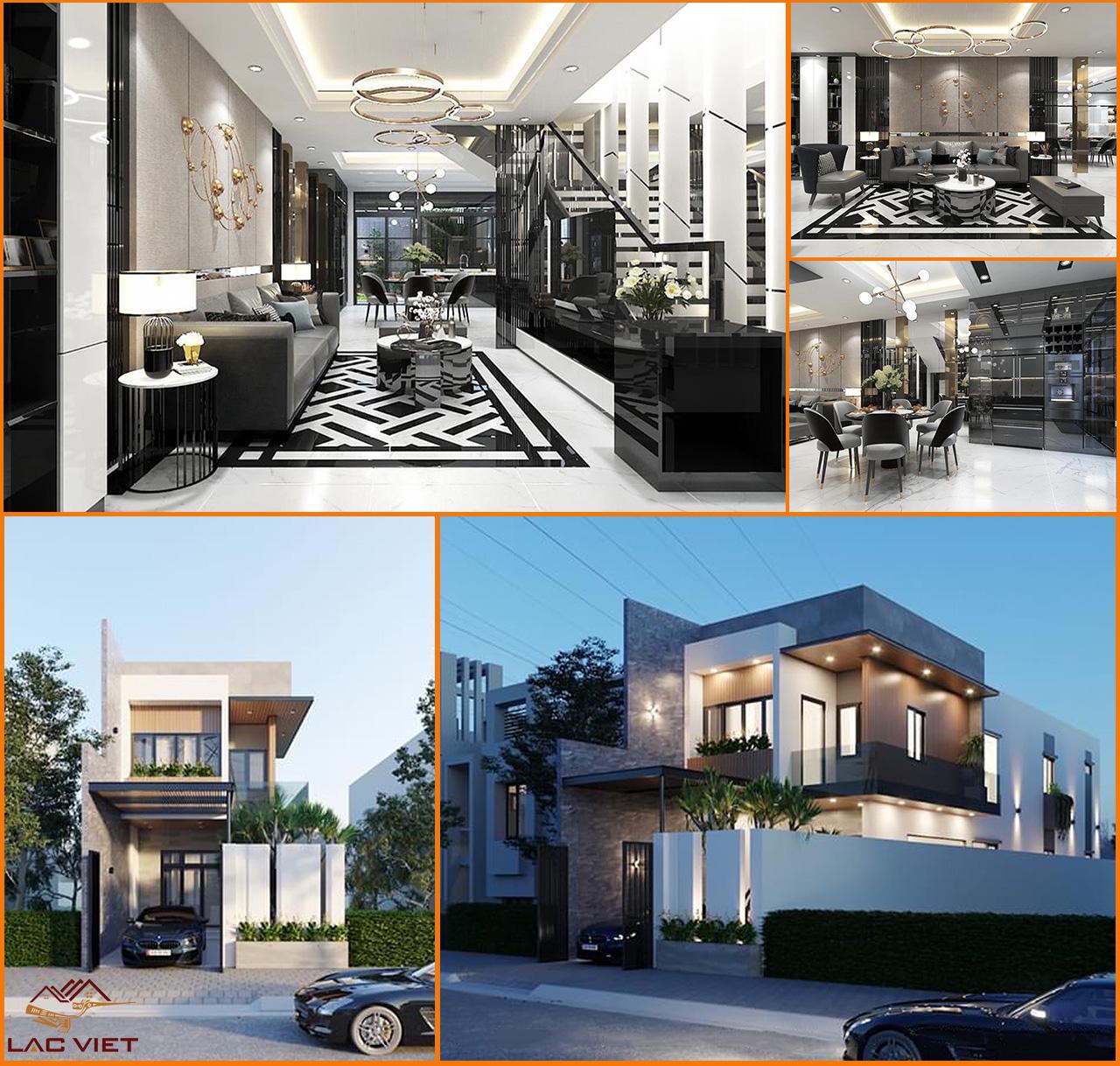 3D Nội thất nhà phố với chi phí thiết kế cạnh tranh