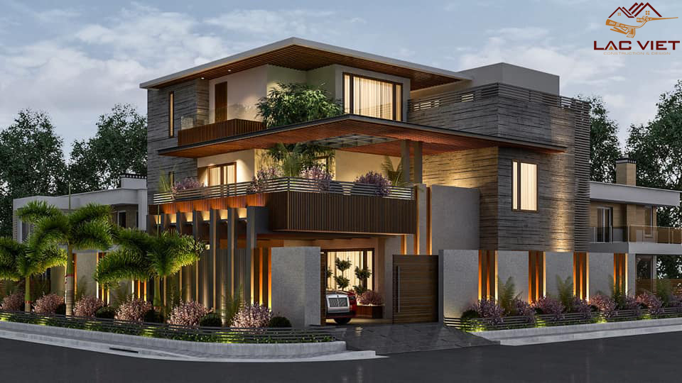 Báo giá thiết kế nhà phố đẹp