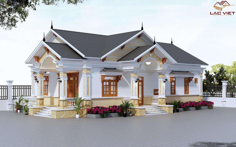 Báo giá thiết kế nhà mái thái