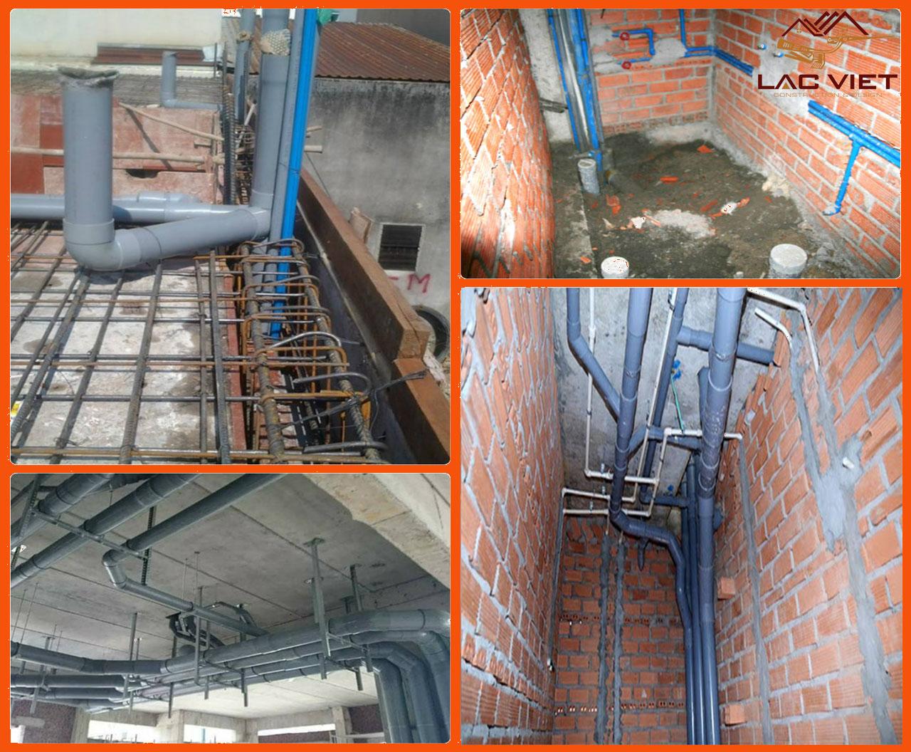 Lắp đặt hệ thống điện nước