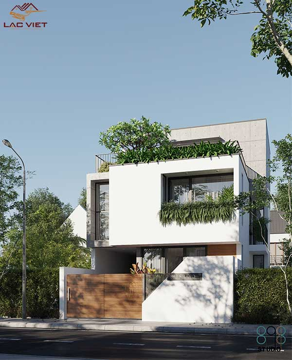 Mẫu nhà phố tối giản