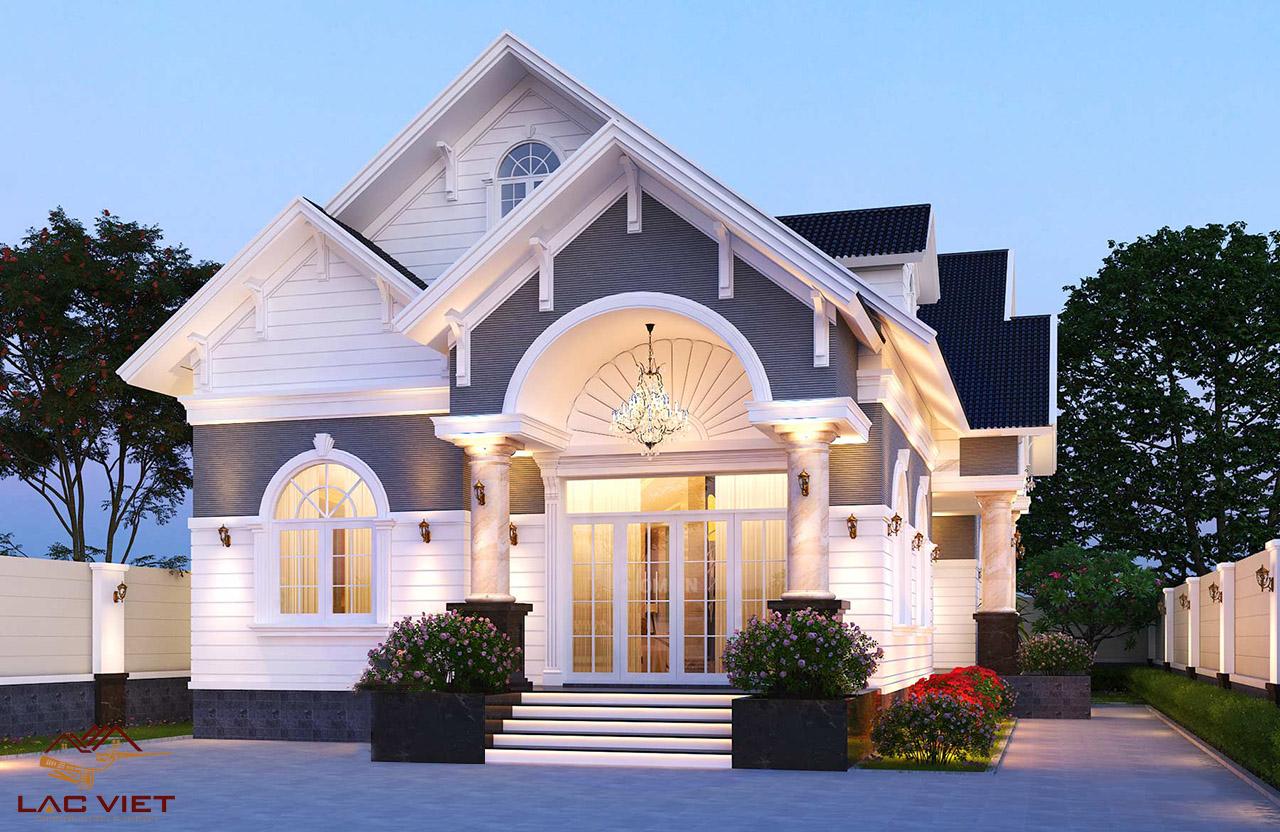 Phong cách thiết kế nhà mái Thái