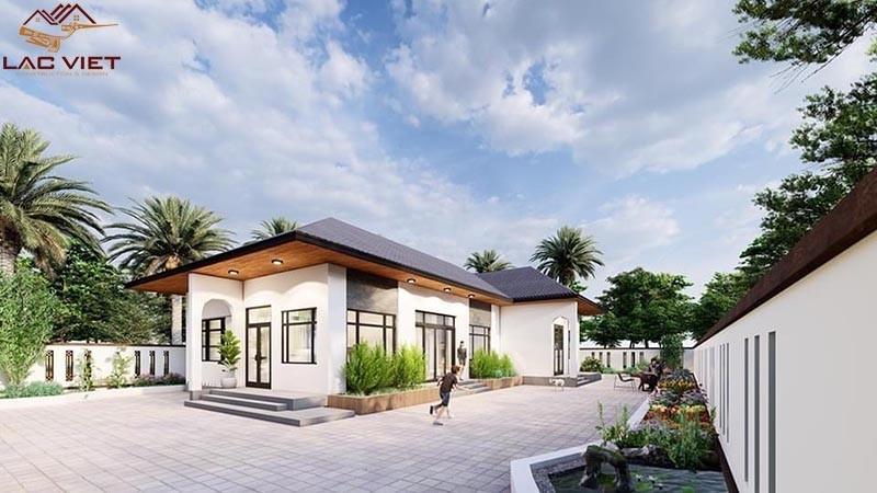 Thiết kế nhà cấp 4 có không gian sống gần gũi với thiên nhiên