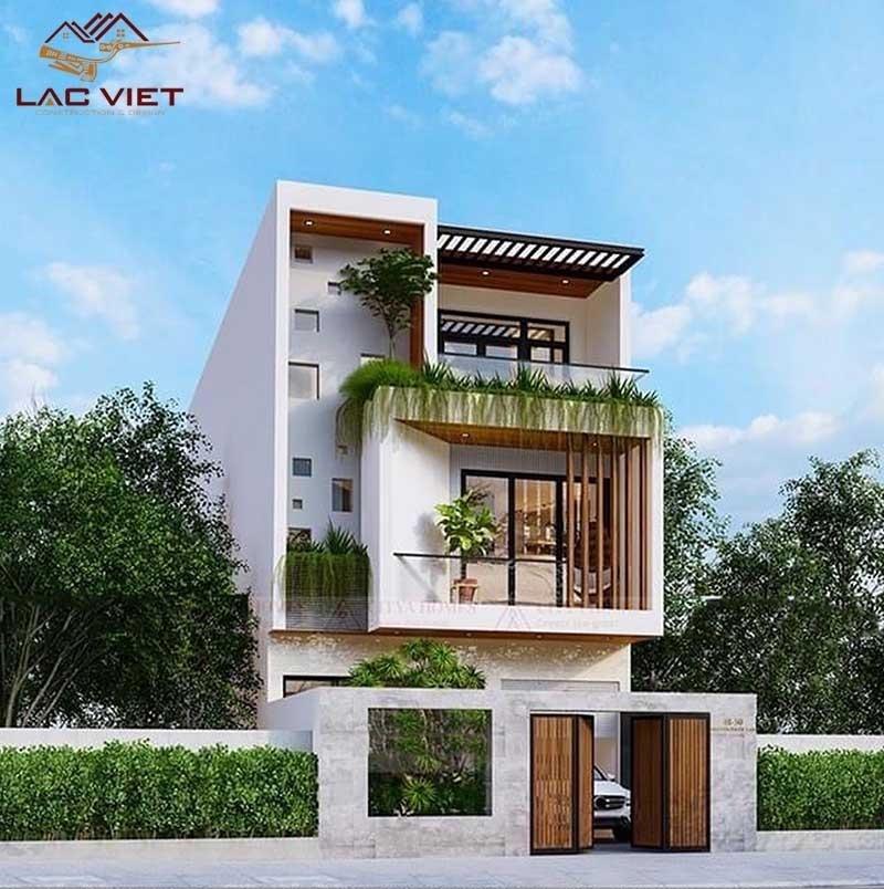 Mẫu nhà phố thiết kế tối giản với đầy đủ công năng