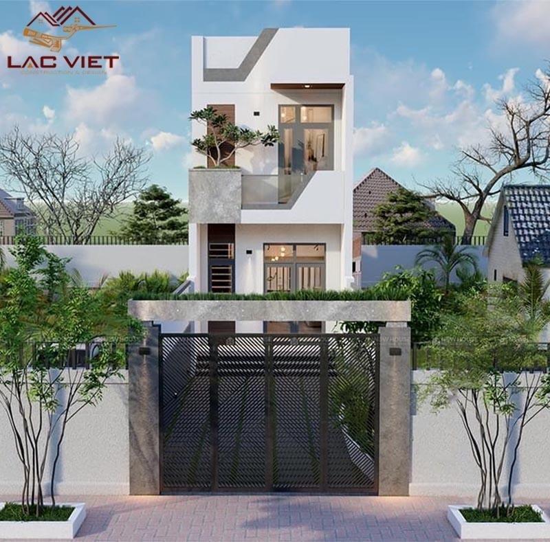 Các chi tiết thiết kế không quá cầu kỳ vẫn toát lên vẻ đẹp sang trọng cho ngôi nhà