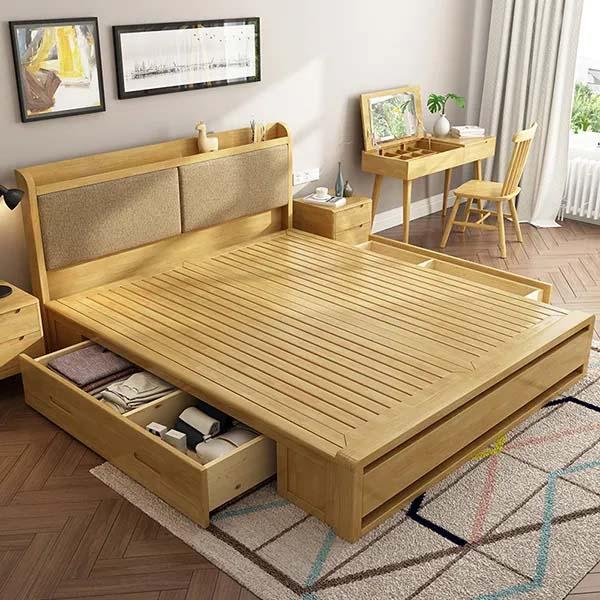 Giường đa năng với thiết kế thông minh