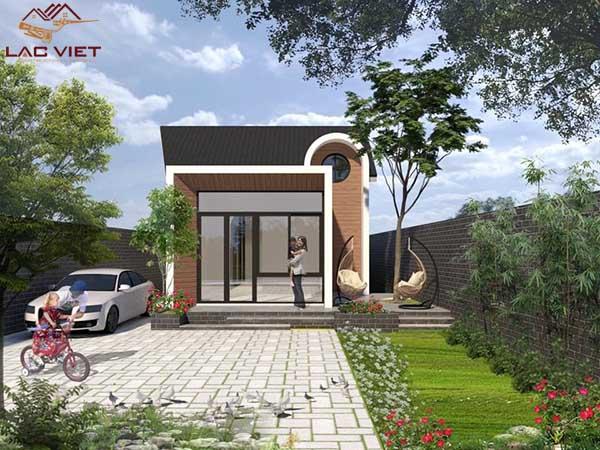 Kiến trúc nhà cấp 4 đơn giản