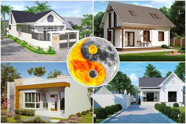 Thiết kế nhà ở với phong thủy phù hợp người Việt