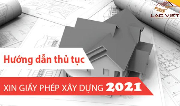 Thủ tục xin phép xây dựng năm 2021