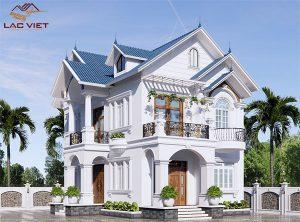 Những mẫu thiết kế nhà 2 tầng mái thái đẹp nhất