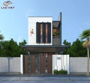 Những mẫu thiết kế nhà phố 2 tầng đẹp đơn giản và hiện đại