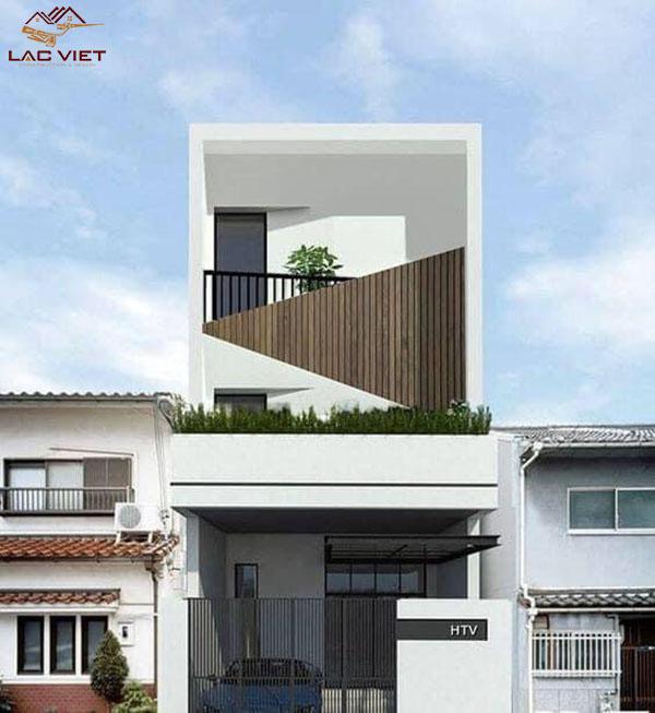 Mẫu thiết kế nhà phố rộng 4m đẹp