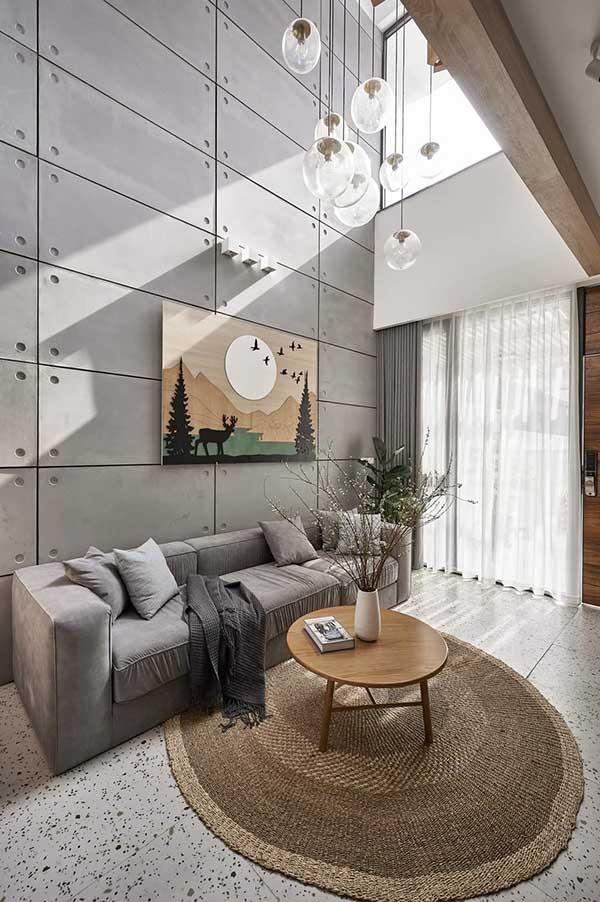 Thiết kế phòng khách với màu sắc hài hòa