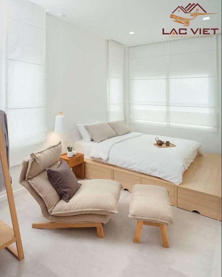 phòng ngủ master với thiết kế cơ bản