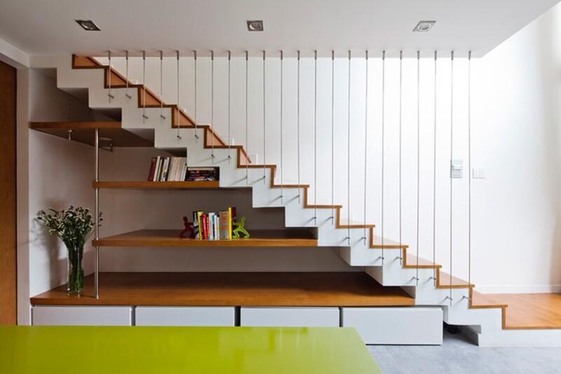 Thiết kế cầu thang cần phải lưu ý tới kích thước hợp lý, chiều cao và chiều rộng cầu thang