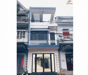 Công trình thực tế nhà phố 3 tầng 5x20m tại Hóc Môn