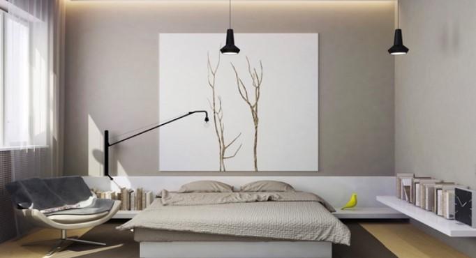 Phòng ngủ được thiết kế hợp phong thủy sẽ bảo đảm sự thoải mái, thư thái và đem lại nhiều may mắn