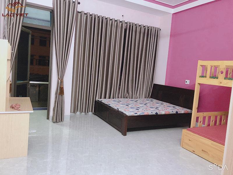 Phòng ngủ dành cho 2 bé