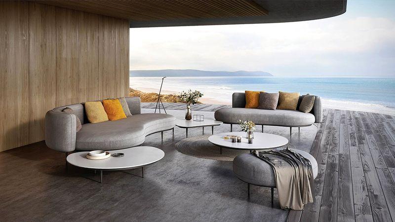Các món đồ nội thất có thiết kế đơn giản đem lại sự dễ chịu