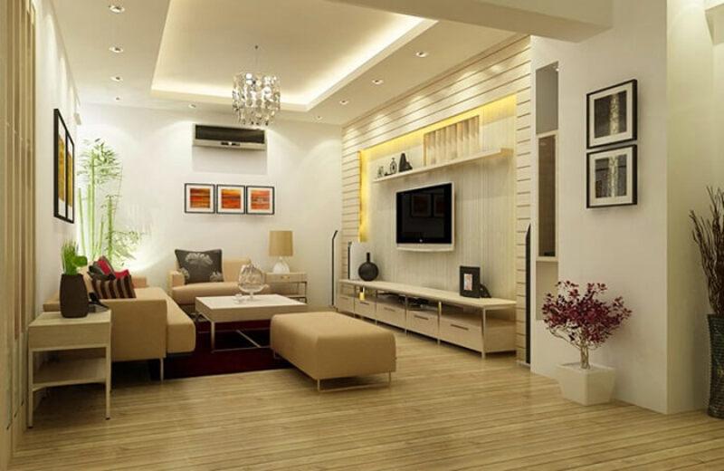 Sử dụng đồ nội thất đơn giản nhưng ngôi nhà đem lại sự thoải mái hết sức tuyệt vời
