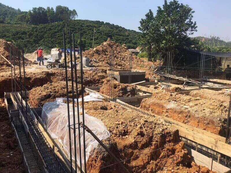 Nên chọn mảnh đất dễ thi công, xây dựng