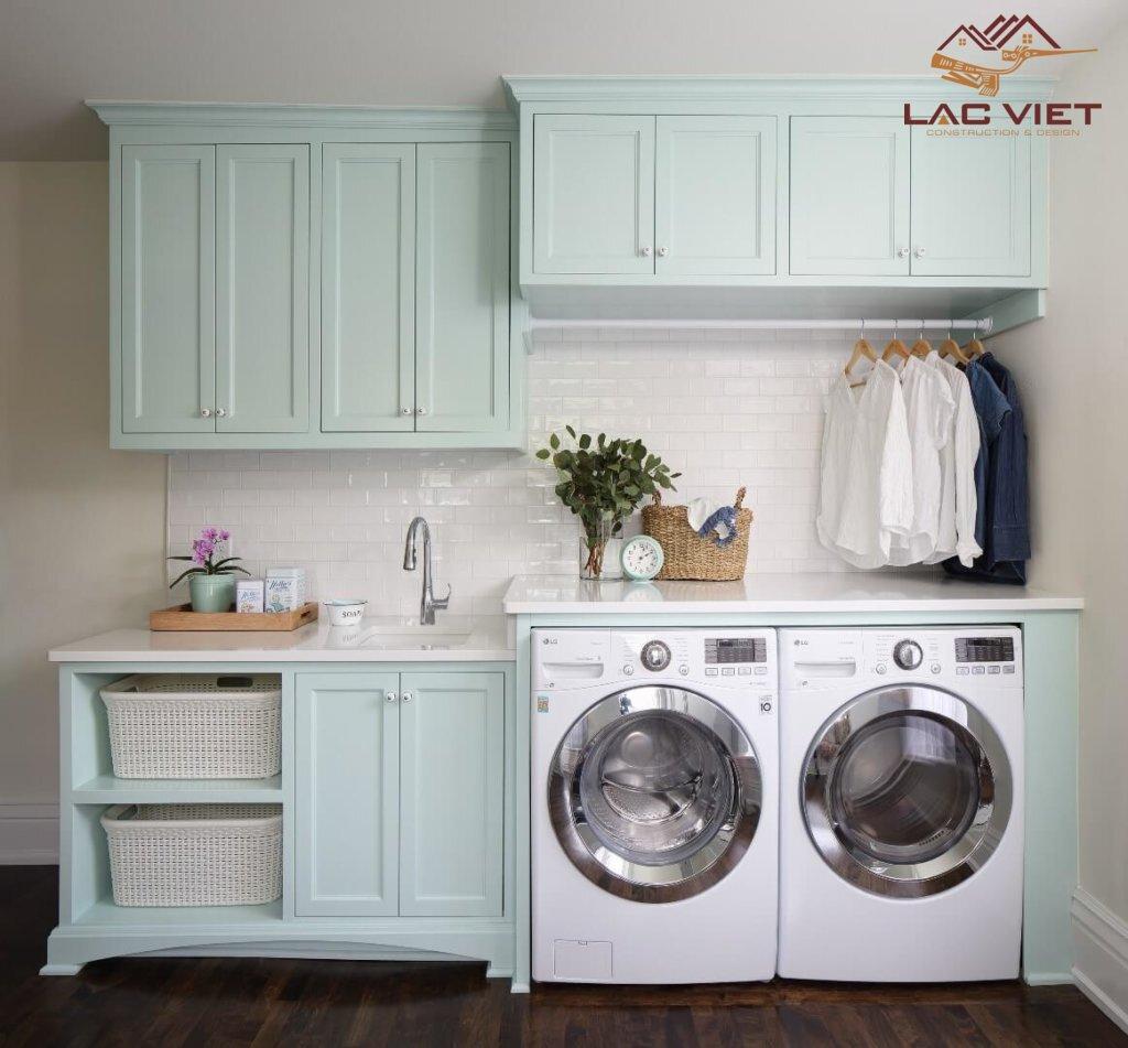 Phòng giặt riêng sạch sẽ - tiện nghi