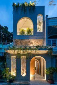 Cổng vòm ngày càng phổ biến trong các ngôi nhà Việt Nam