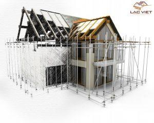 Xây dựng Lạc Việt tính toán loại móng phù hợp theo các yếu tố của từng công trình