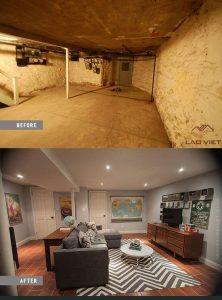 Đừng lãng phí không gian dưới tầng hầm vì bất kỳ lý do gì