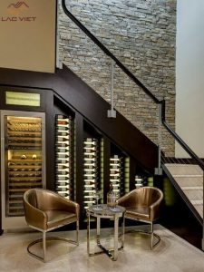 Nếu thích rượu vang, hãy tậu cho mình một chiếc tủ rượu hay quầy bar mini