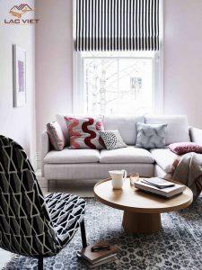 Nếu phòng khách có diện tích nhỏ - đừng quá tham lam và chu ý tới màu sắc