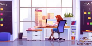 Bàn làm việc sẽ là nơi gồng gánh đồ đạc nhiều tới mức mà bạn không thể lường trước được