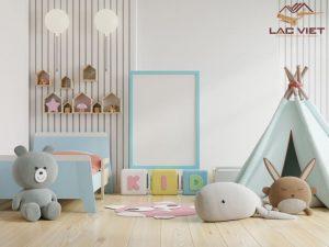 Tường trắng làm nền sau đó hãy lấp đầy bằng những đồ nội thất màu sắc