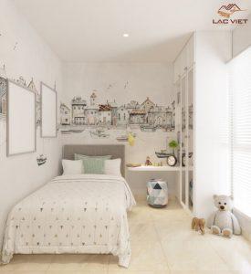 Phòng ngủ nhỏ nhưng vẫn đầy đủ tiện nghi nếu biết cách bố trí