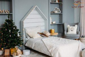 Màu sắc trung lập giúp quá trình trang trí phòng ngủ cho bé dễ dàng hơn