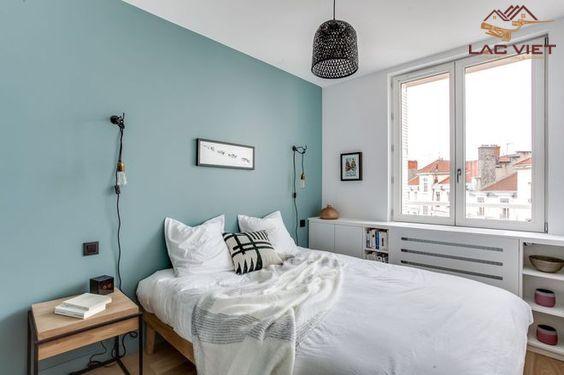 Màu pastel cho thiết kế phòng ngủ
