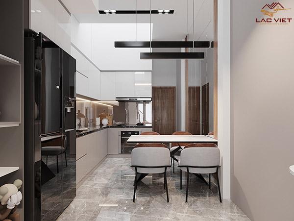 Phòng bếp nhà 3m